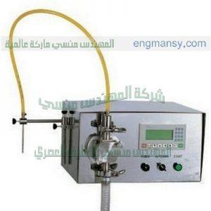 ماكينة تعبئة الصابون السائل والخل والمياه والزهره السائله ومعطر الجو